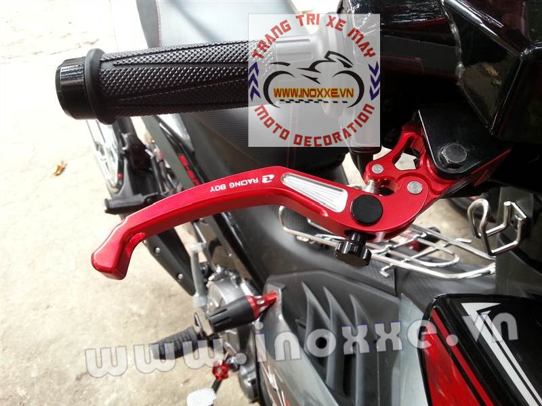 Tay thắng Racing Boy được lắp cho Exciter 135
