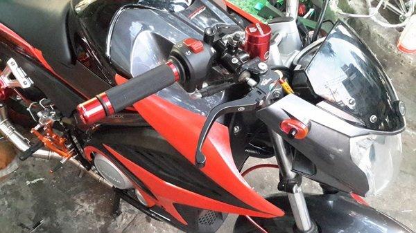 Bao tay Barracuda Fz150i