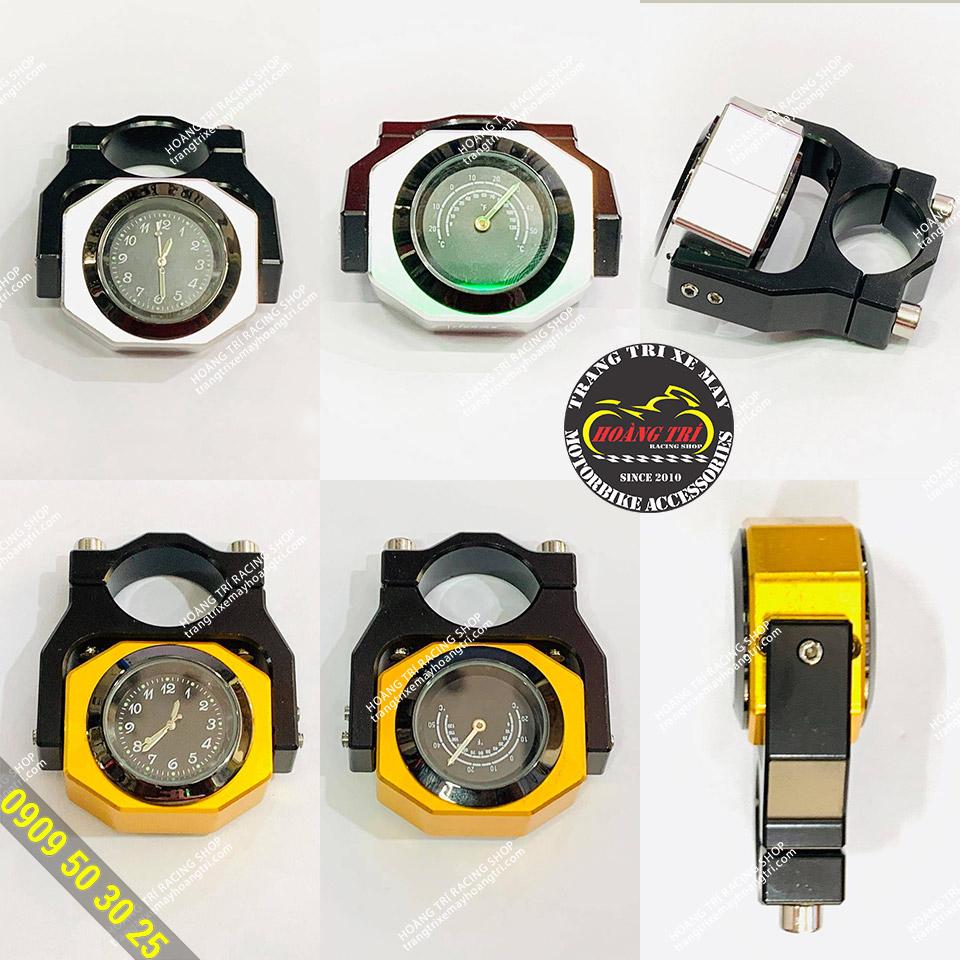 Đồng hồ 2 trong 1 - xem thời gian và nhiệt độ