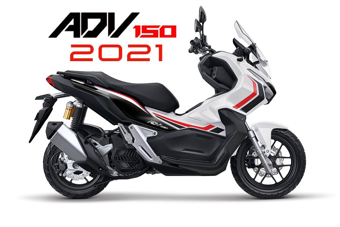 Honda ADV 150 2021 ra mắt với bộ cánh hoàn toàn mới