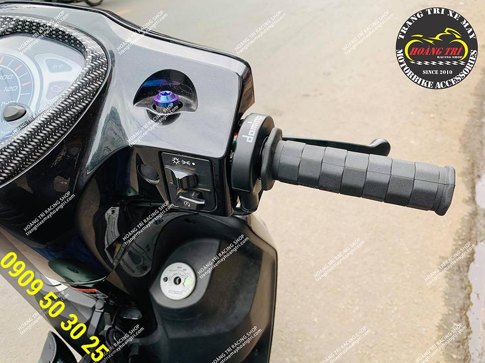 Cùm tăng tốc Domino chính hãng gắn trên Acruzo