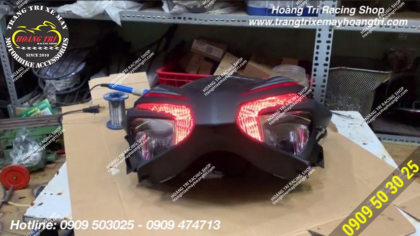 LED Audi A11 đã được trang bị trên LED Demi của Exciter 155