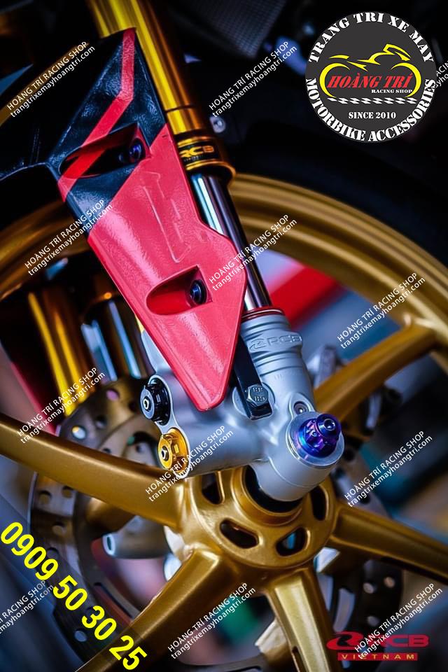 Thương hiệu Racing Boy được khẳng định từ đầu phuộc đến chân phuộc