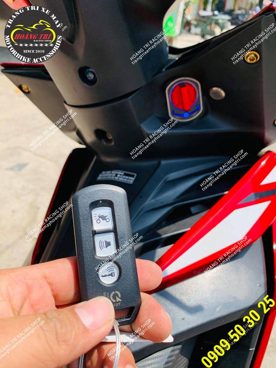 Remote smartkey chính hãng Honda với 3 nút full chức năng