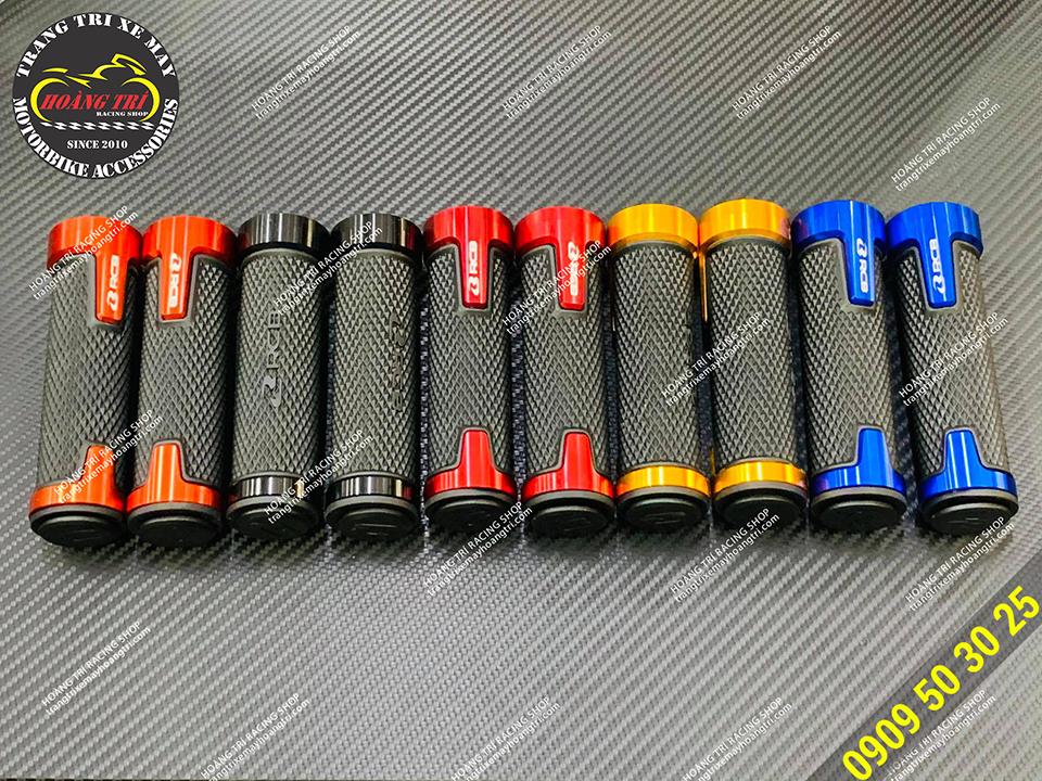 5 màu bao gồm: đỏ, xanh dương, cam, vàng và đen