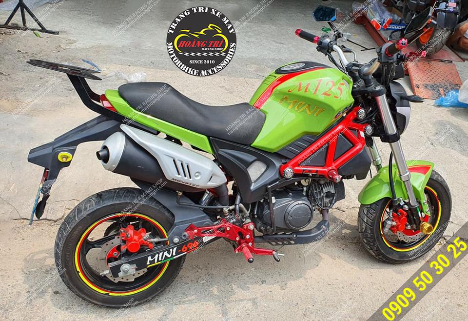 Số gãy MSX đã được trang bị cho Ducati Mini