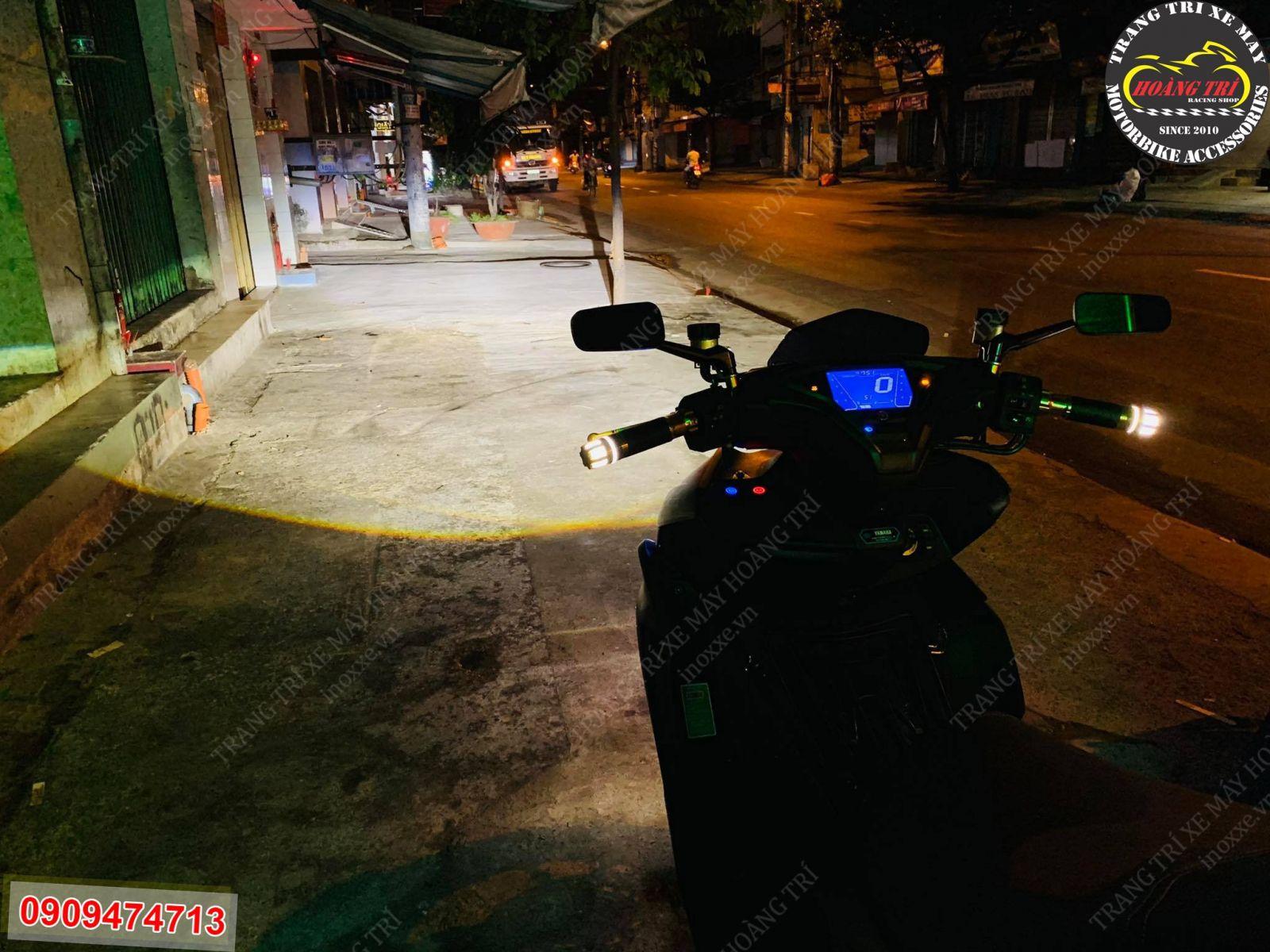 Kiểm tra lại kỹ lại ánh sáng của đèn bi cầu LED HTR-520