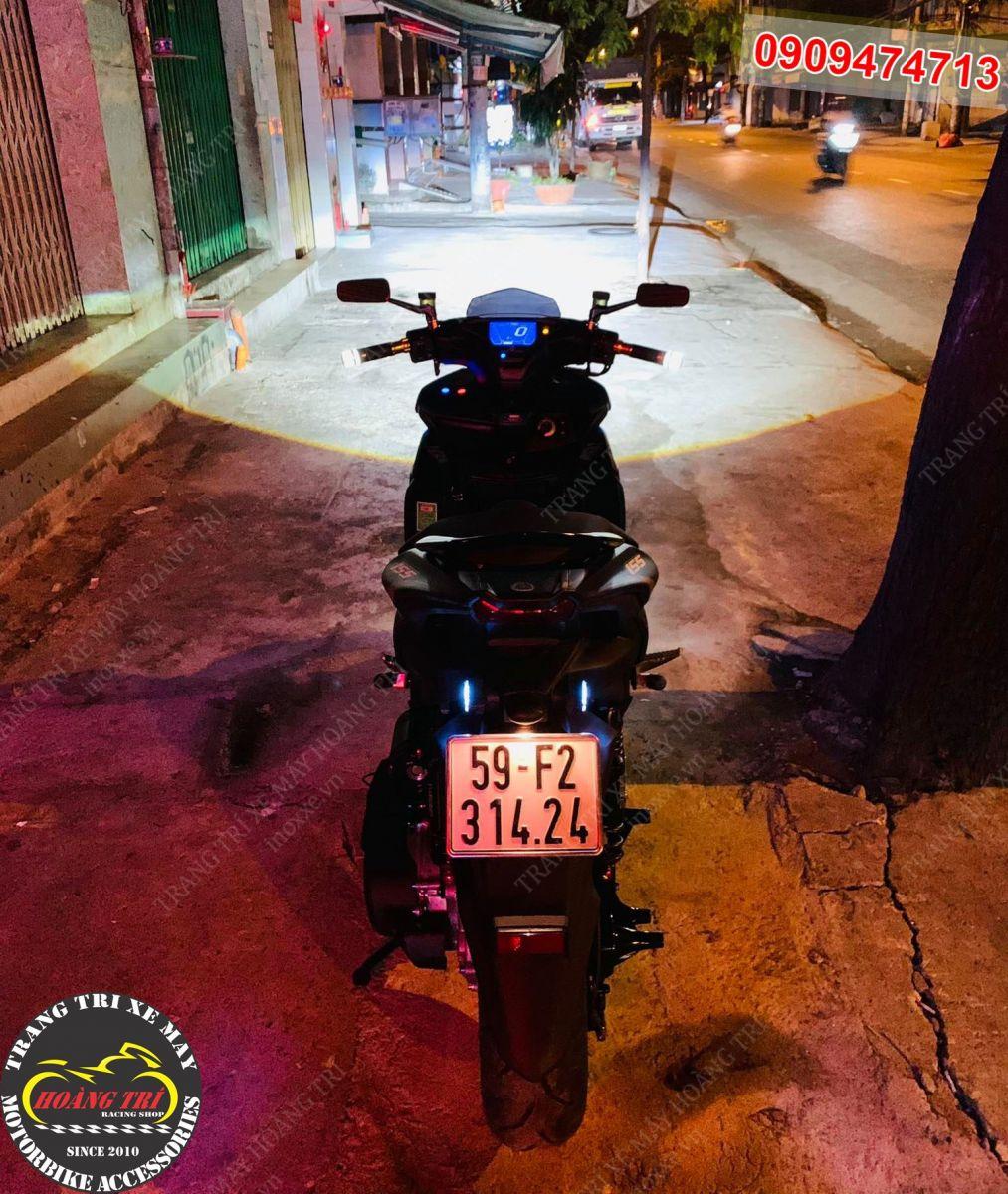 Ánh sáng của đèn bi cầu LED HTR-520 xua tan bóng đêm