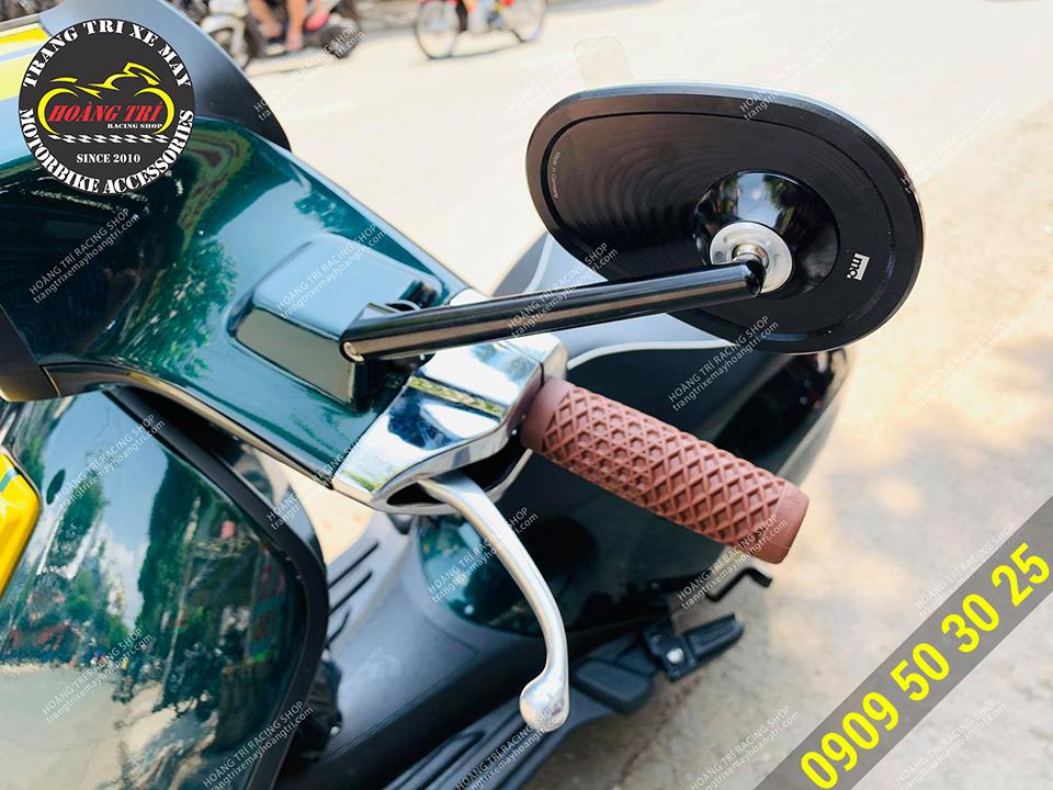 Kính hậu Motogadget chính hãng made in Germany với mẫu Club