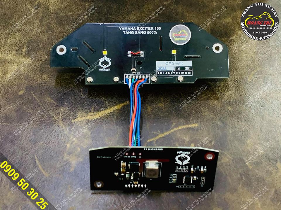 Lắp đặt dễ dàng, nhanh chóng, không cắt dây điện trên xe