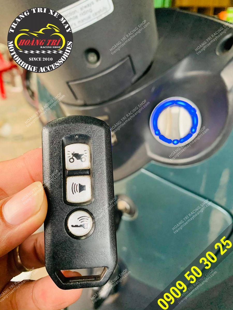 Remote 3 nút chức năng chính hãng Honda Việt Nam