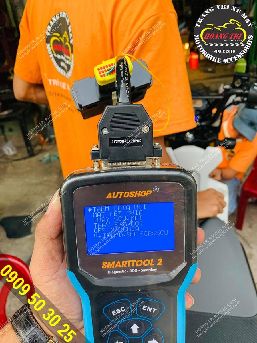 Dịch vụ chép remote smartkey chính hãng Honda