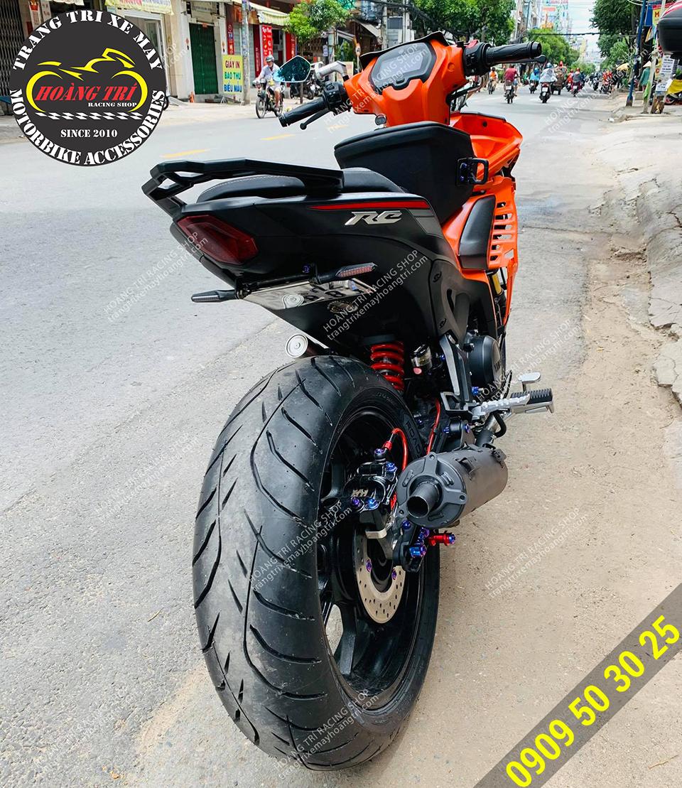 Pô tăng giả Exciter 155 - pô Uma Racing V3 Exciter 155