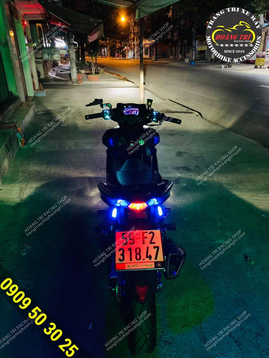 Nổi bật giữa ban đêm cùng mạch tăng sáng đèn Cos Exicter 155