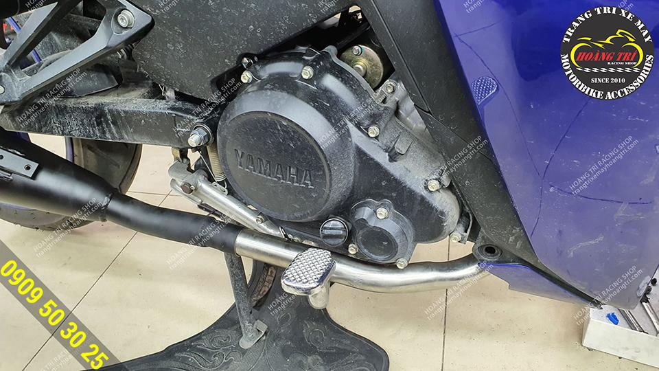 Sản phẩm với cổ inox dành cho Exciter 155  Phát sinh thêm chi phí khi lắp thêm cổ pô inox Exciter 155