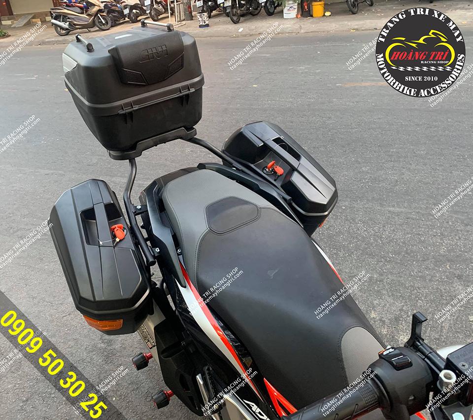 Baga sau SRV là điểm cố định pát cho thùng hông givi chính hãng