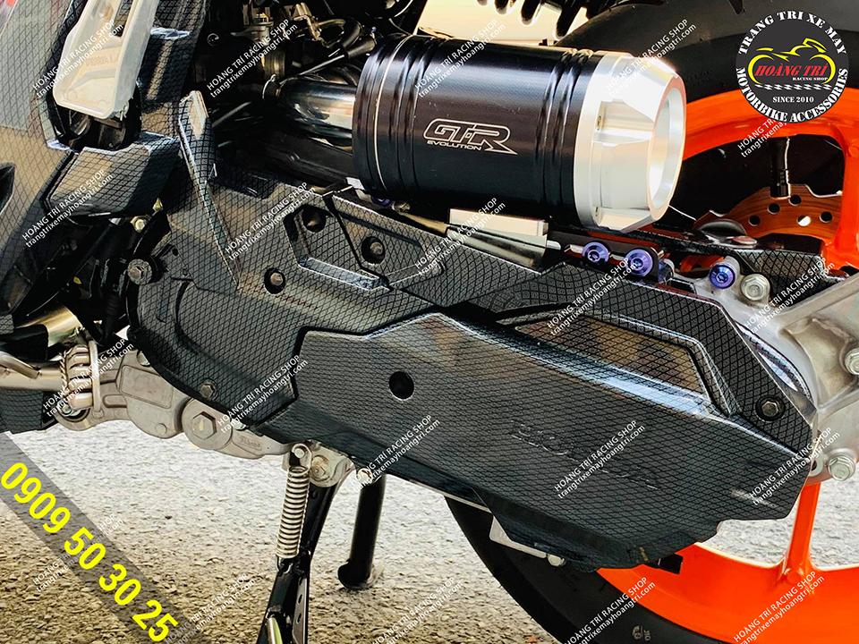 Pô e GTR cho âm thanh thu hút hơn