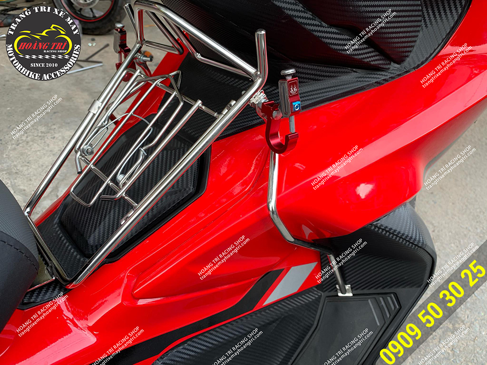 Baga inox ADV 150 - sản phẩm đáng mong chờ của nhiều anh em sở hữu xe ADV 150