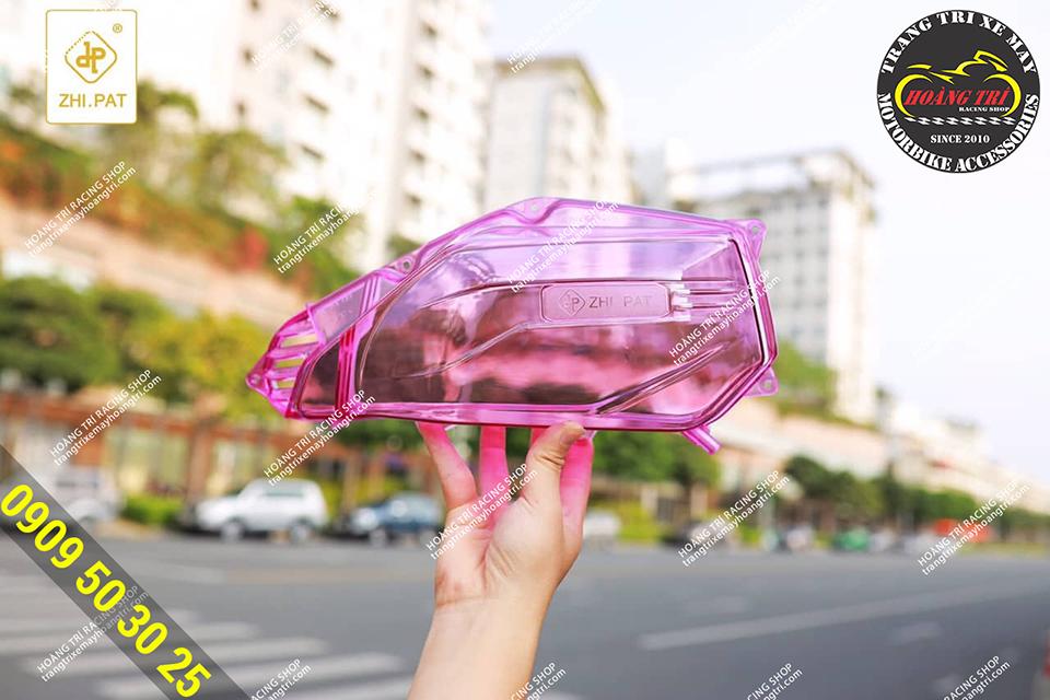 Độ pô e trong suốt Click Vario màu hồng trong suốt