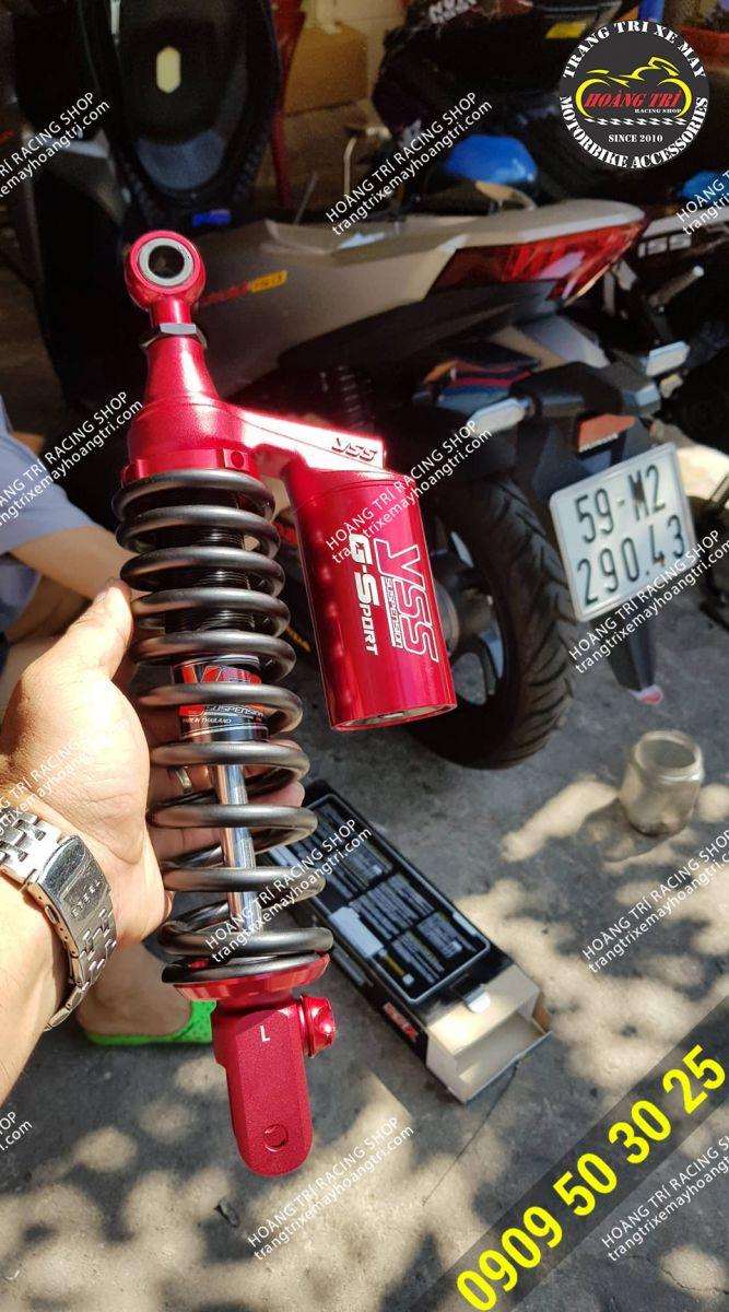 Trên tay sản phẩm phuộc YSS phiên bản đặc biệt chuẩn bị lắp cho xe