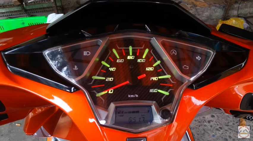 Đèn led đồng hồ Airblade 2016 với nhiều màu sắc