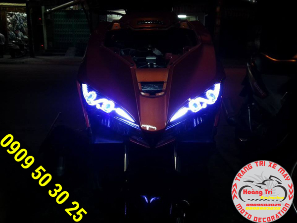 Độ đèn led audi xu hướng chơi xe của Biker