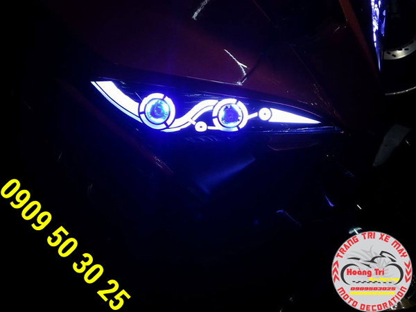 Đèn Led Audi bên trái - độ bền cao