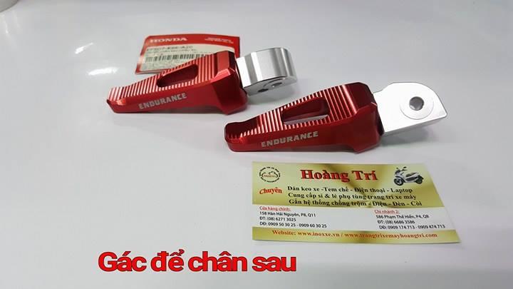 Gác chân sau phụ kiện chính hãng Honda