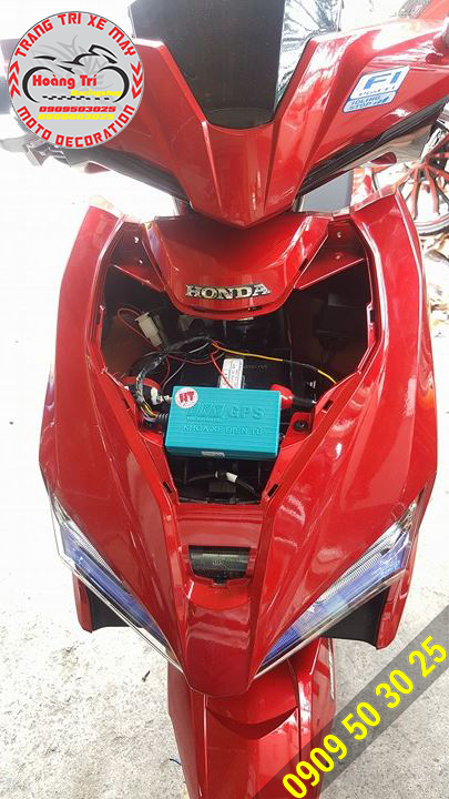 Airblade 2016 được trang bị Iky GPS