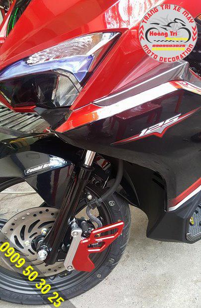 Past bảo vệ heo dầu đỏ tông sẹc tông xe Airblade 2016 đỏ