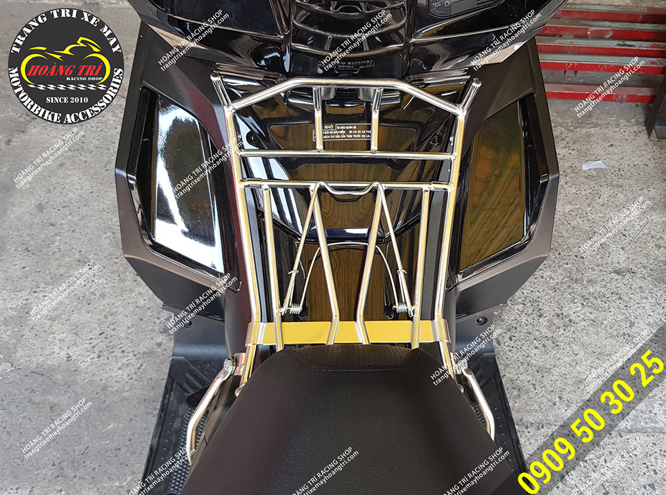 Góc trực diện baga 10 ly inox Airblade 2020