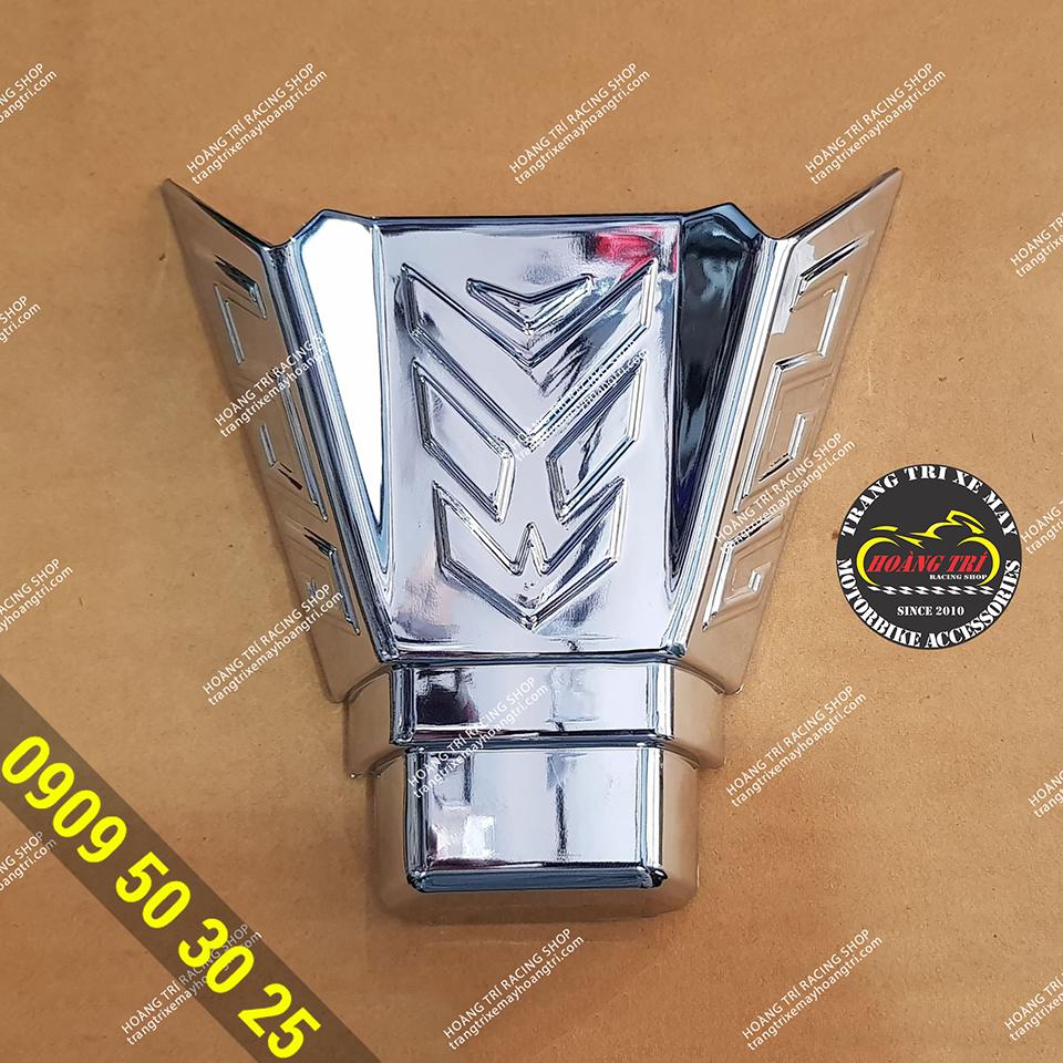 Cận cảnh chi tiết ốp đuôi đèn lớn Airblade 2020 mạ crom