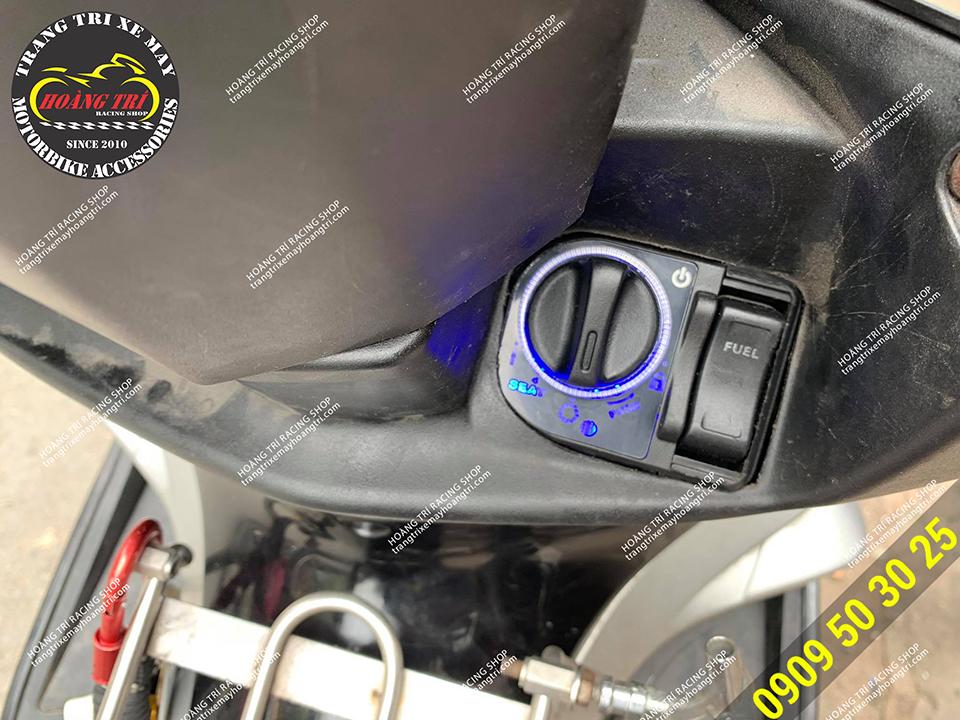 Airblade 2007 lắp đặt khóa smartkey thông minh không cần sử dụng chìa khóa