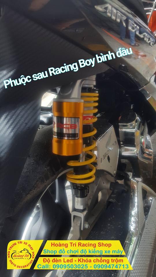 Cận cảnh phuộc Racing Boy tại Hoàng Trí Racing Shop