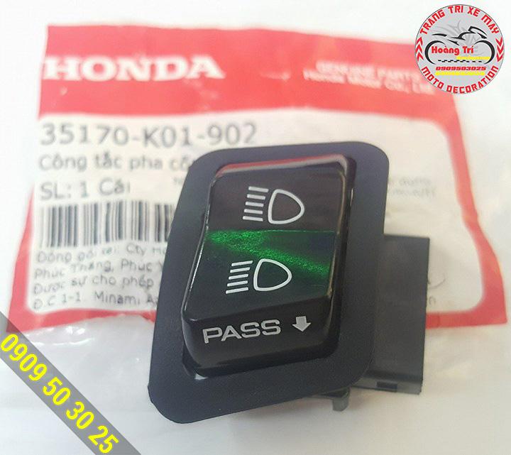 Đây là công tắc Passing của Sh dùng để chế bật yên tự động cho những dòng xe Honda