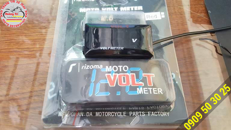 Đồng hồ đo Volt hiệu Rizoma