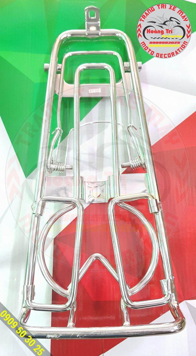 Baga inox 10 ly mẫu mới dành cho Exciter 135