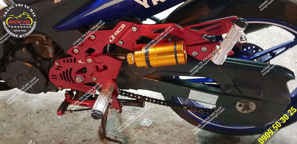 Cận cảnh bộ số gãy Racing Boy trên Exciter 135 GP