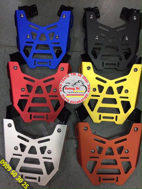 Baga Givi CNC cho Winner 150 đầy đủ màu sắc
