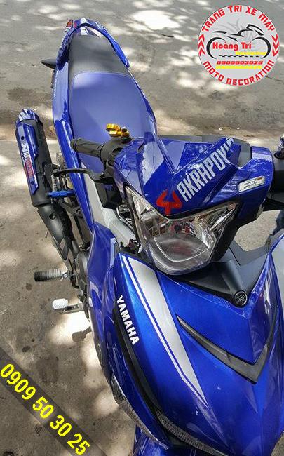 Mão đầu đèn Xanh GP Exciter 150
