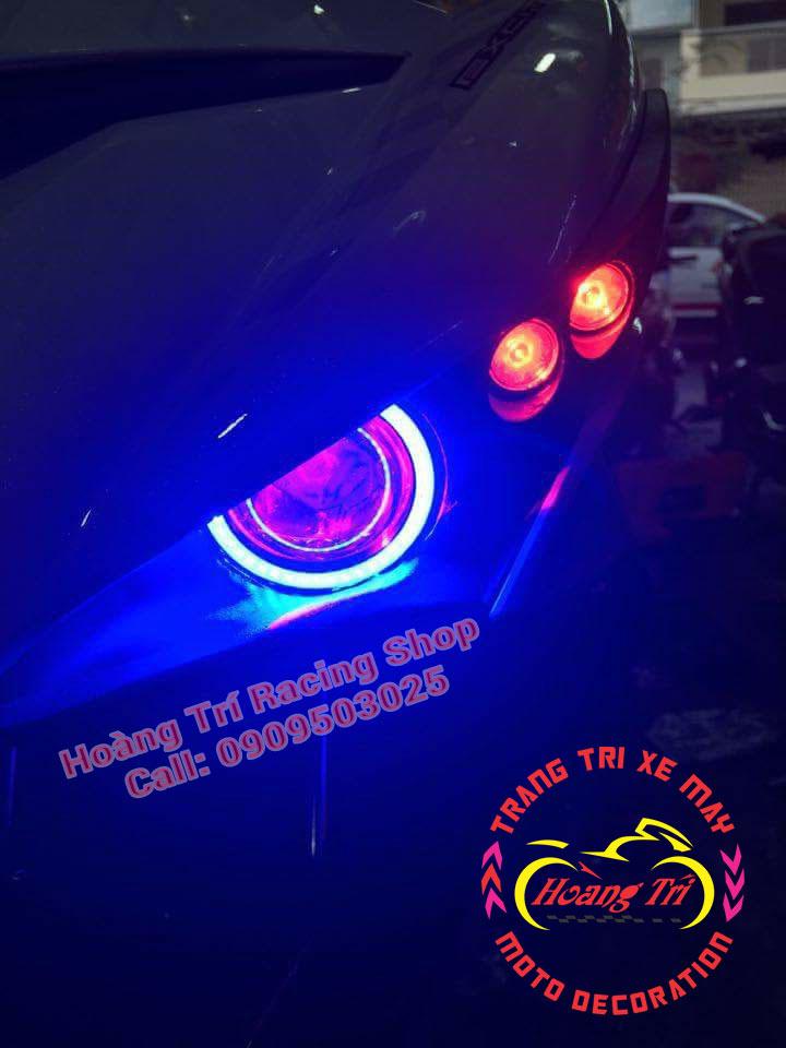 Đèn mắt cú ex 150 mẫu 2016 1