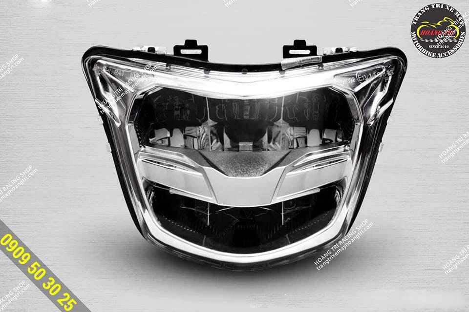 Led 2 tầng Exciter 150 phiên bản Sporty 2019 - Silverlight