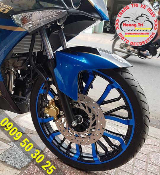 Mâm kuni màu xanh đen - mẫu mới của Hoàng Trí Racing Shop