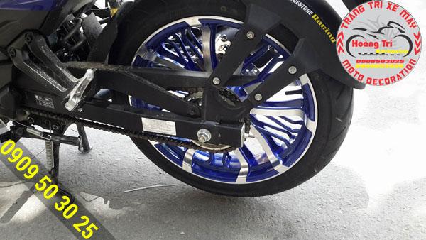 Tông sẹc tông với màu sơn của Exciter GP