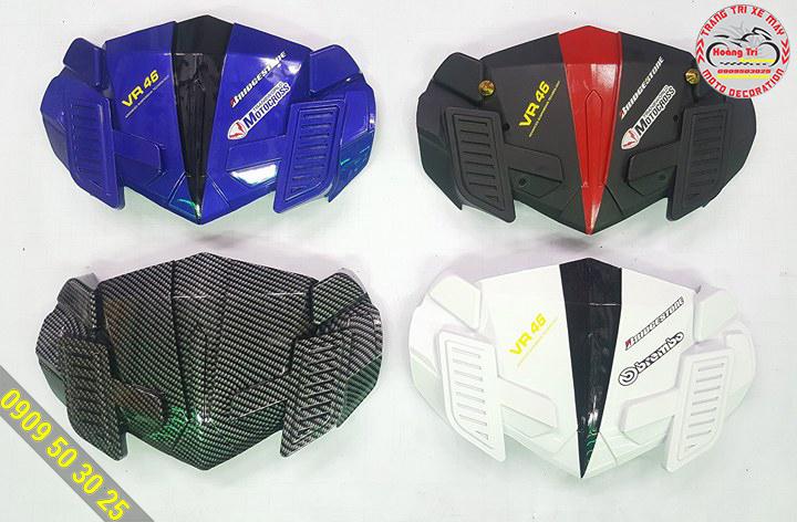 4 màu sắc của mão siêu nhân VR-46