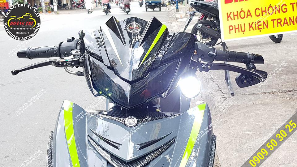Exciter 150 đã lắp đèn Kenso KZ40