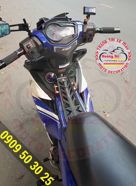 Một chiếc Exciter GP gắn smartkey thương hiệu Việt