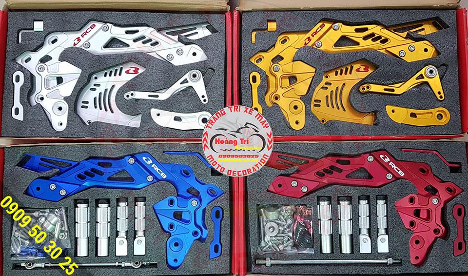 Khui hộp 4 màu bộ số gãy Racing Boy Exciter 150