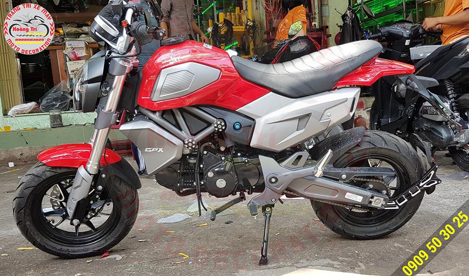 Rất giống phong cách xế yêu Ducati