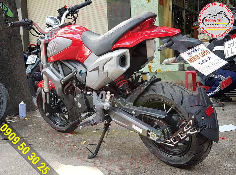 Chắn bùn Moto Racing đã được độ cho GPX Demon X